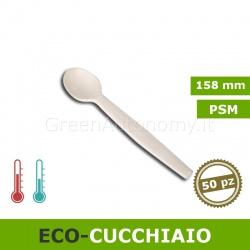 Eco-Cucchiaio biodegradabile in PSM 50 pezzi