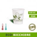 Eco-Bicchiere bio da 210ml