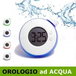 Orologio verde gadget regalo ad acqua