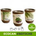 Ecocan vaso ecologico con semi per gadget o regalo