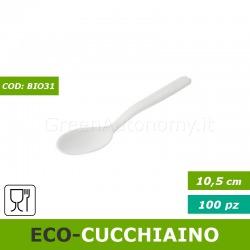 Eco-cucchiaino dessert-caffè CPLA