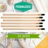 Kit eco-matite da piantare personalizzate per bomboniere
