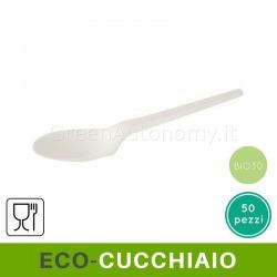 Eco-cucchiaio bio CPLA ecologico compostabile