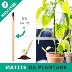 Eco-matite da piantare per gadget aziendali personalizzati