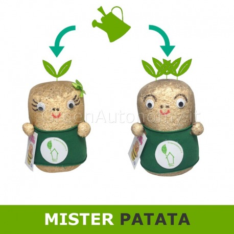 Mister patata idea regalo green da annaffiare