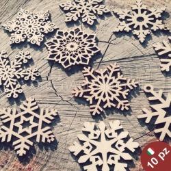 Idea regalo natale addobbi natalizi in legno