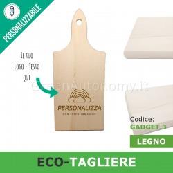 Eco-gadget tagliere personalizzato di legno