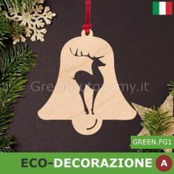 Decorazione di Natale in legno