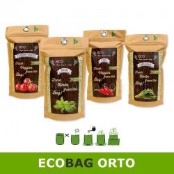 Ecobag busta ecologica biodegradabile con terra e semi