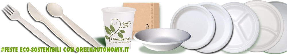 Le migliori Eco-stoviglie biodegradabili per feste, fiere e sagre
