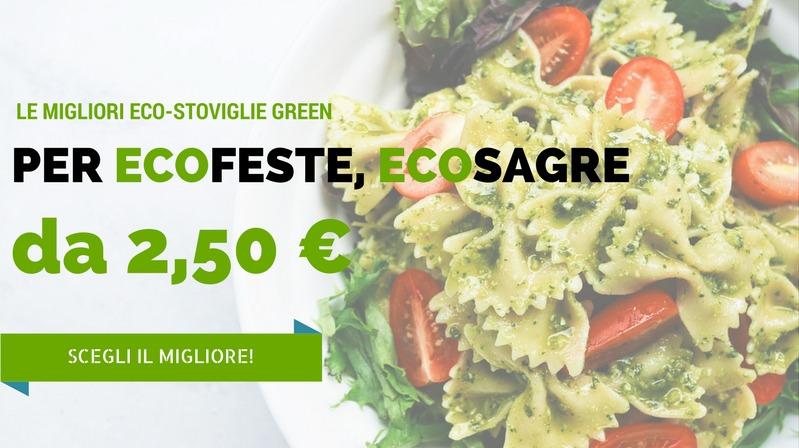Comprare Eco-stoviglie green bio